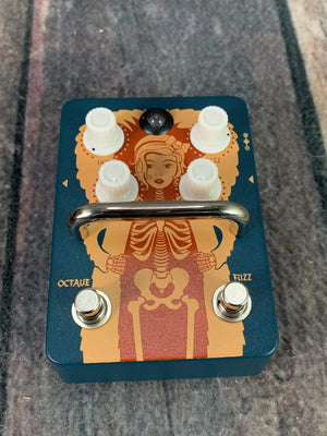 Orange pedal Used Orange Fur Coat Fuzz / Octave Pedal with Box