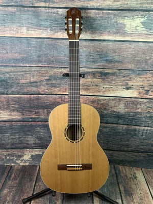 Ortega Classical Guitar Ortega Left Handed R122L Classical Guitar with Gig Bag
