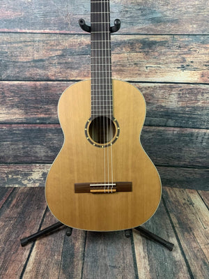 Ortega Left Handed R122L Classical Guitar with Gig Bag