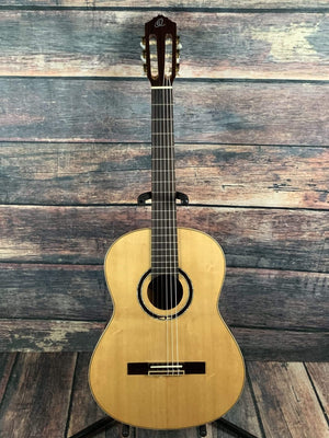 Ortega Classical Guitar Ortega Left Handed R138SN-L Slim Neck Nylon String Classical Guitar