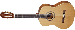 Ortega Classical Guitar Ortega Left Handed R139MN-L Feel Series R139 Medium Neck Nylon String Classical Guitar