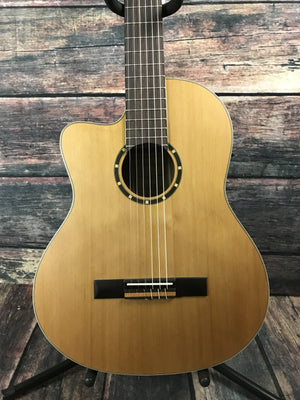 Ortega Classical Guitar Ortega Left Handed RCE131L Acoustic Electric Classical Guitar