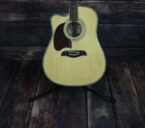 Oscar Schmidt Acoustic Guitar Guitar Only Oscar Schmidt Left Handed OG2CE Acoustic Electric Guitar