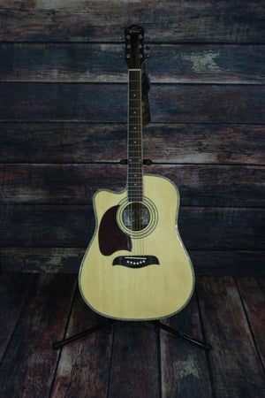 Oscar Schmidt Acoustic Guitar Oscar Schmidt Left Handed OG2CE Acoustic Electric Guitar