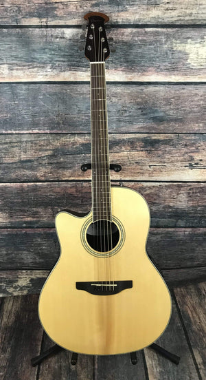 Ovation Acoustic Guitar Ovation Left Handed Celebrity Standard CS24L-4 Acoustic Electric Guitar