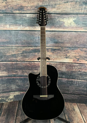 Ovation Acoustic Guitar Ovation Left Handed L751AX Baladeer 12 String Acoustic Guitar