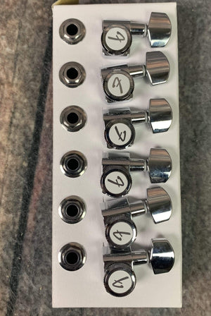 "Peavey Tuner Fender ""F"" Logo Locking Tuner Set"