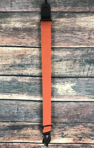 "Perri''s Leathers Strap Perri's CWS20-1677 2"" Cotton Adjustable Strap- Orange"