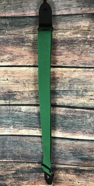 "Perri''s Leathers Strap Perri's CWS20-1689 2"" Cotton Adjustable Strap- Green"