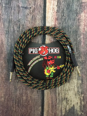 Pig Hog Cable Pig Hog Rasta PCH20RA 20ft Straight to Straight Instrument Cable