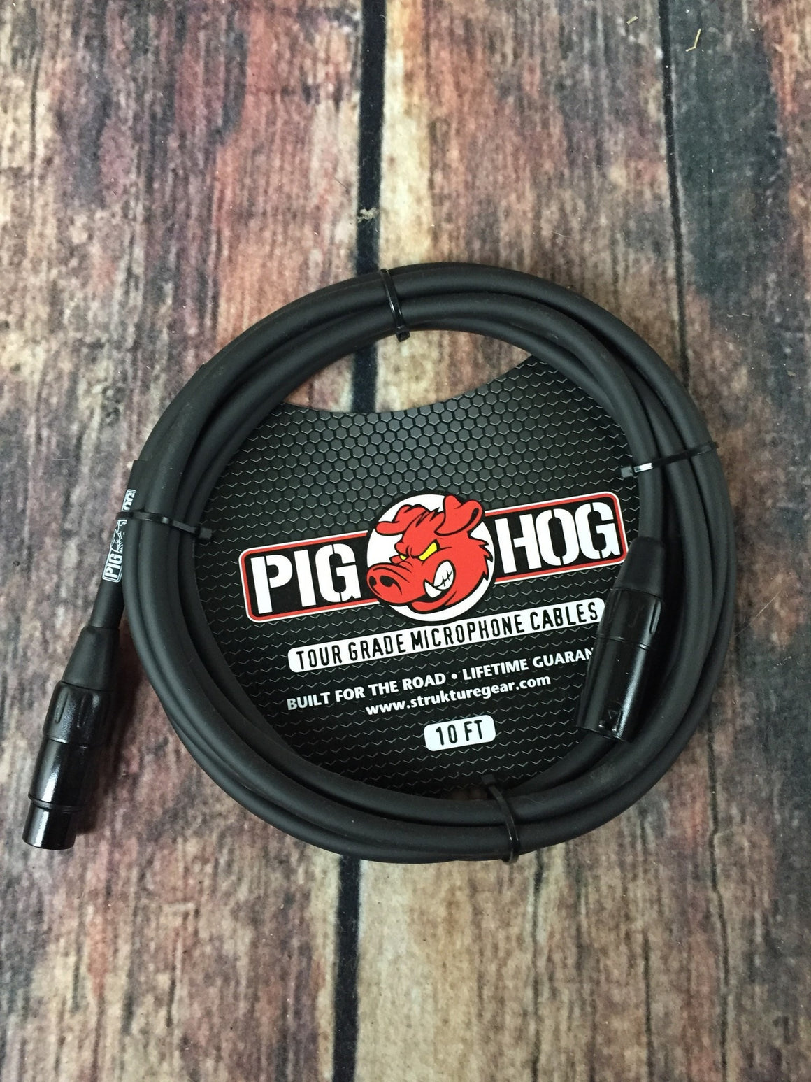 Pig Hog Microphone Cable Pig Hog PHM10 8mm 10ft XLR Microphone Cable