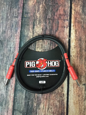 Pig Hog Speaker Cable Pig Hog PHSC5 5ft Speaker Cable