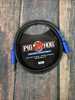 Pig Hog Speaker Cable Pig Hog PHSC5 9.2mm Speaker Cable, 5ft (14 gauge wire)