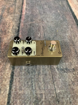 Pigtronix pedal Used Pigtronix Philosopher's Tone Germanium Gold Micro Compressor Pedal with Box