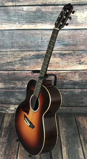 Pimentel Acoustic Guitar Used Pimentel Left Handed GR Auditorium Acoustic Guitar with Matching Case