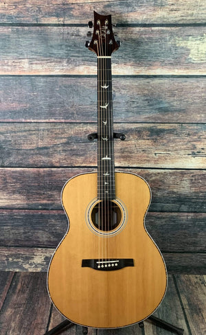 PRS Acoustic Guitar Used Paul Reed Smith PRS SE Tonare TE40EN Acoustic Electric Guitar with Case- Natural