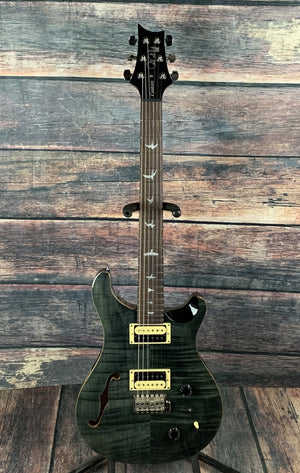 PRS Electric Guitar Used PRS SE Custom Semi Hollow Electric Guitar with PRS Gig Bag