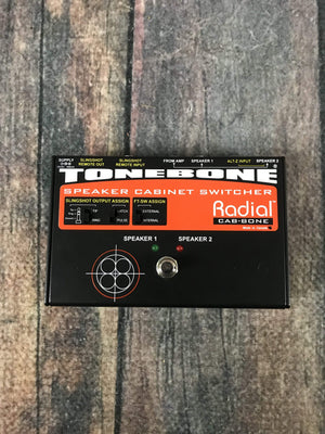 Radial pedal Used Radial ToneBone CabBone Speaker Cabinet Switcher Pedal