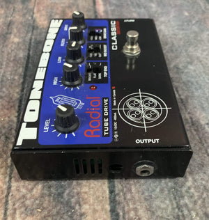 Radial pedal Used Radial ToneBone Classic Distortion Pedal with Power Supply
