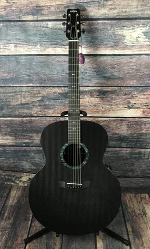 RainSong Acoustic Electric Guitar Includes a Hard Shell Case Rainsong Left Handed JM1000N2 6-string Jumbo Acoustic Electric Guitar