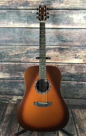 RainSong Acoustic Guitar Includes Hard Shell Case Rainsong Left Hand CO-DR1000N2T Acoustic Electric Guitar- Tobacco Burst