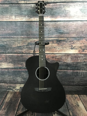 RainSong Acoustic Guitar Rainsong H-OM1000N2 Hybrid Series Acoustic Electric Orchestra Body Guitar
