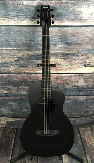 RainSong Acoustic Guitar Used Rainsong Concert Hybrid CH-PA1100NS Parlor Acoustic Guitar with Case