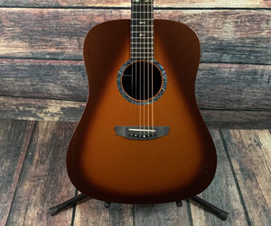RainSong Acoustic Guitar Used Rainsong Left Hand CO-DR1000N2T Acoustic Electric Guitar with Case - Tobacco Burst