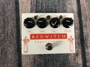Red Witch pedal Used Red Witch Empress Chorus Vibrato Pedal