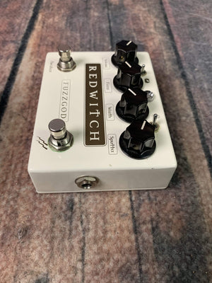 Red Witch pedal Used Red Witch Fuzz God II Fuzz Pedal