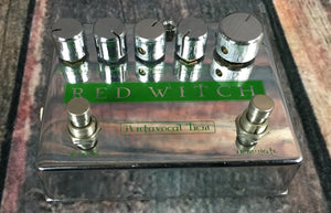 Red Witch pedal Used Red Witch Pentavocal Tremolo Pedal