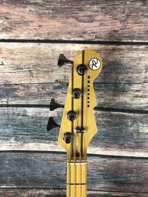 Reverend Electric Bass Reverend Decision 4 String Electric Bass- Oceanside Green