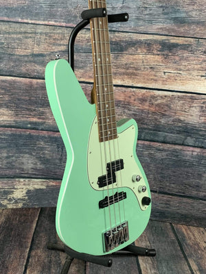 Reverend Electric Bass Reverend Decision P 4 String Electric Bass- Oceanside Green