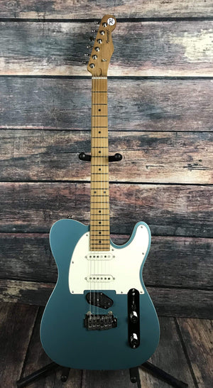 Reverend Electric Guitar Reverend Eastsider S Pete Anderson Signature Series Electric Guitar- Satin Deep Sea Blue