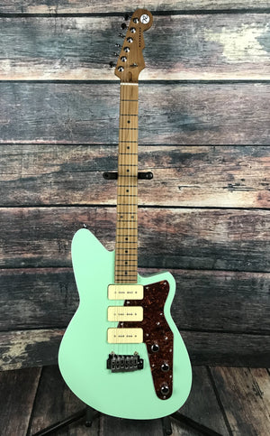 Reverend Electric Guitar Reverend Jetstream 390 Oceanside Green Electric Guitar