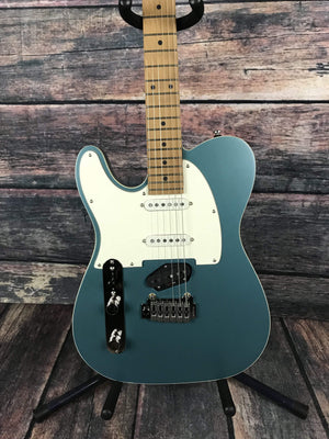Reverend Electric Guitar Reverend Left Handed Eastsider S Pete Anderson Signature Series Electric Guitar- Satin Deep Sea Blue