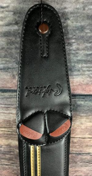 RightOn! Strap RightOn! Mojo Collection John Player Special Vegan Leather Guitar Strap - Race JPS