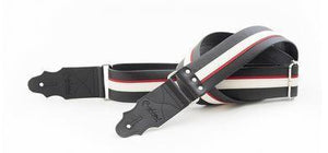RightOn! Strap RightOn! Standard Plus Collection Guitar Strap- Hot Rod Black