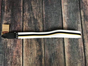 RightOn! Strap RightOn! Standard Plus Collection Guitar Strap- Hot Rod Yellow