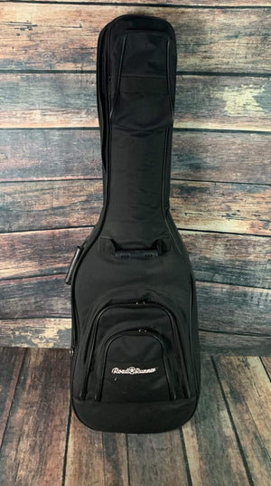 RoadRunner Gig Bag Used RoadRunner Double Sided Electric Bass Gig Bag