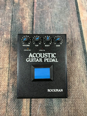 Rockman Amp Used Rockman Acoustic Guitar Simulator Pedal with Power Supply