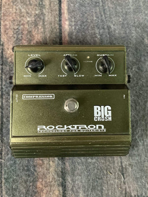 Rocktron pedal Used Rocktron Big Crush Compressor Pedal