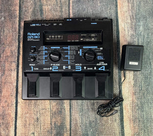 Roland pedal Used Roland GR-30 Synthesizer with Power Supply