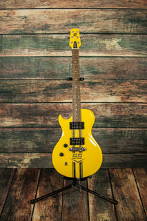 Rowan Electric Guitar Includes a hard shell case Rowan Left Handed Sweet Six Electric Guitar - Corvette Yellow SS