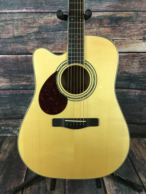 Samick Acoustic Guitar Guitar only Samick Left Handed Worthington D5CE Acoustic Electric Guitar