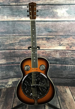 Savannah Acoustic Guitar Savannah SR-200S-SN Chicago Blues Square Neck Resonator Guitar