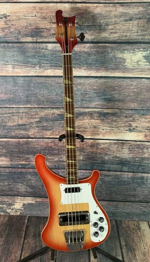 Schafer Electric Bass Used Schafer Law Suit Era 4 String Bass with Hard Shell Case