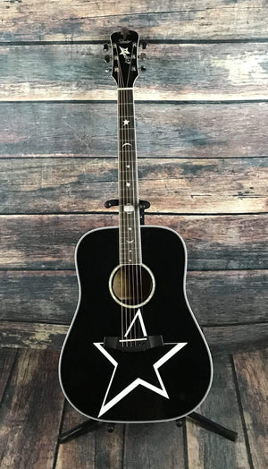 Schecter Acoustic Guitar Schecter RS-1000 Robert Smith Busker Acoustic Guitar- #283