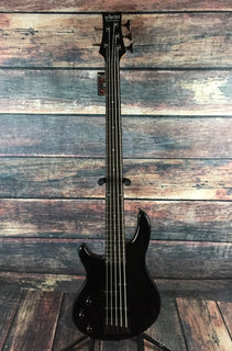Schecter Electric Bass Bass Only Schecter Left Handed Raiden Deluxe 5 String Electric Bass- 2799