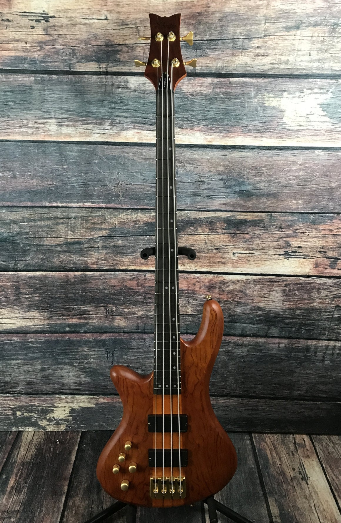 Schecter Electric Bass Bass Only Schecter Left Handed Stiletto Studio 4 Electric Bass